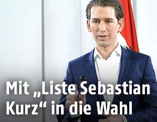 Der designierte ÖVP-Chef Sebastian Kurz