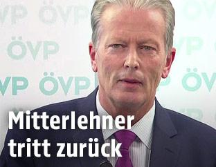 Vizekanzler Reinhold Mitterlehner (ÖVP)
