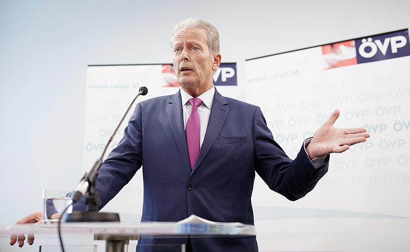 Der ehemalige Vizekanzler Reinhold Mitterlehner (ÖVP)