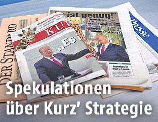 Österreichische Tageszeitungen