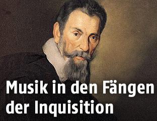 Gemälde des Komponisten Claudio Monteverdi