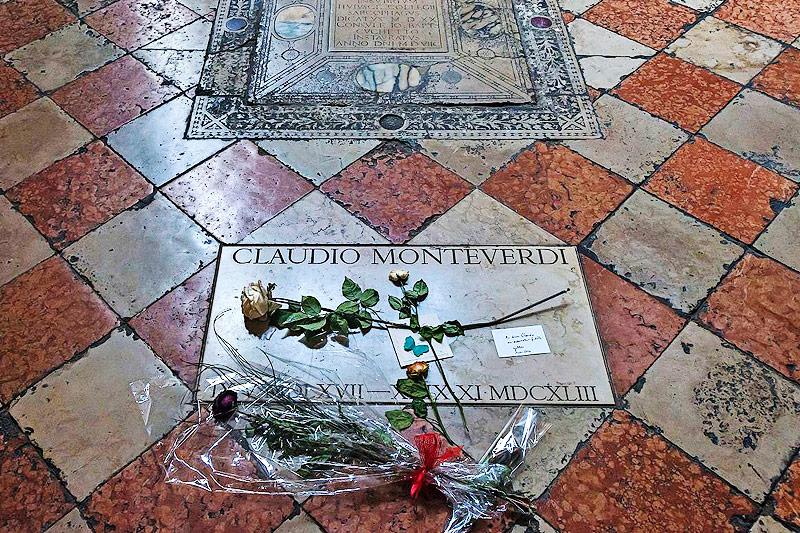 Grab von Claudio Monteverdi