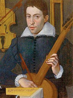 Gemälde des jungen Claudio Monteverdi
