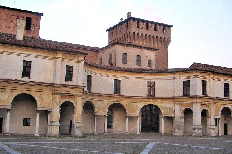Kastell in Mantua