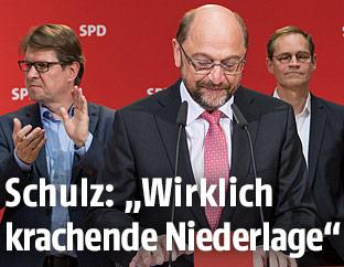 SPD-Kanzlerkandidat Martin Schuz