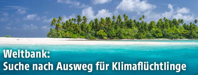 Atoll in der Kiribati Inselgruppe