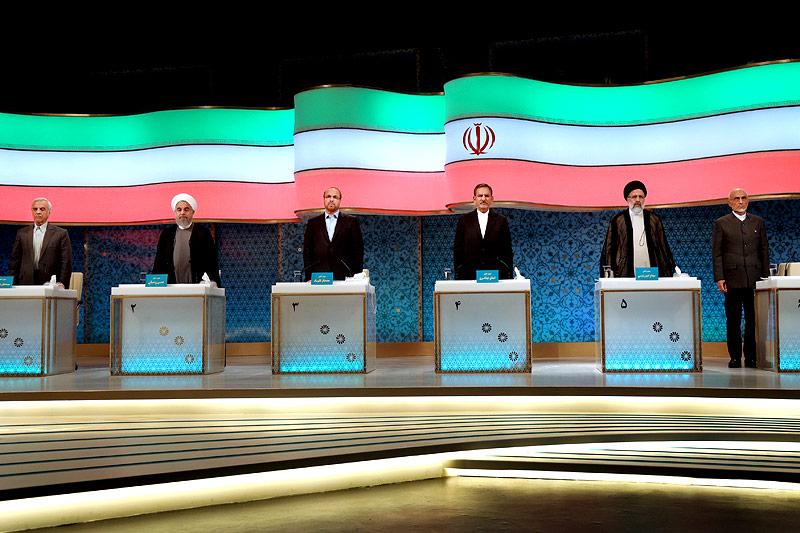 Wahlkonfrontation im Iran