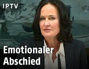 Die grüne Bundessprecherin Eva Glawischnig