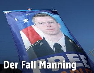 Transparent zeigt Bradley Manning