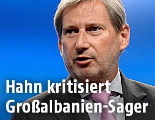 EU-Erweiterungskommissar Johannes Hahn