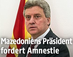 Mazedoniens Präsident Ivanov