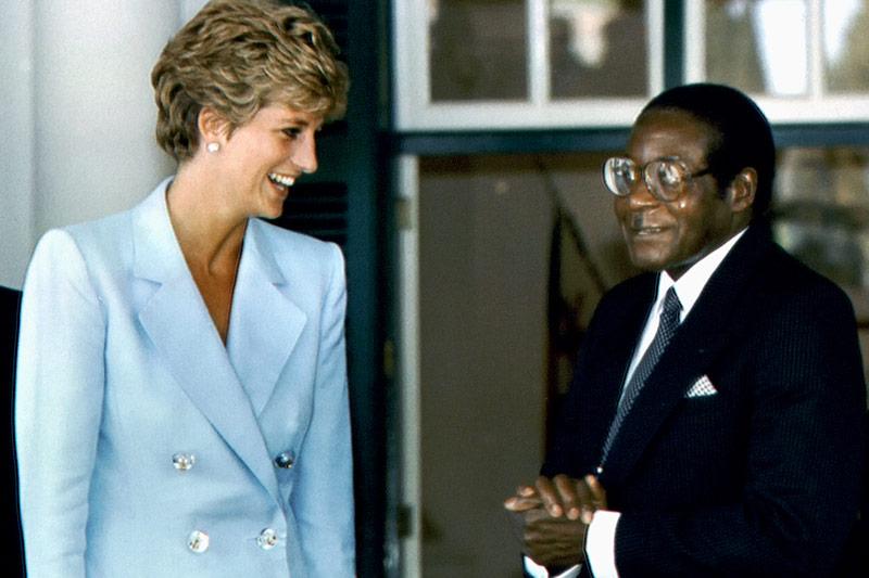 Robert Mugabe und Diana