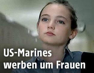 Screenshot eins Werbespot der Marines