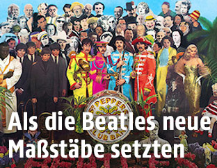 """Albumcover von """"Sgt. Pepper's Lonely Hearts Club Band"""""""