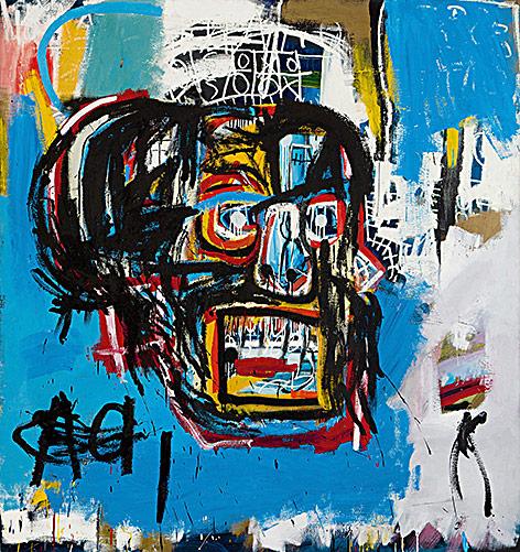 Gemälde von Basquiat