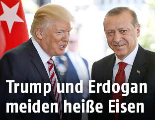 US-Präsident Trump und türkischer Präsident Erdogan