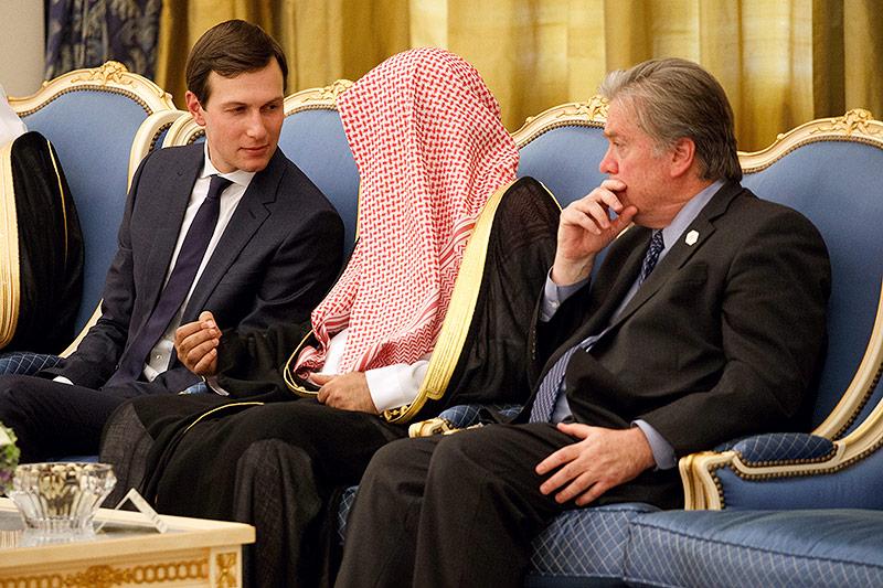Jared Kushner und Steve Bannon zu Gast bei den Saudis
