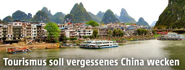 Landschaft in Südchina