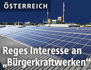 Bürgersolarkraftwerk in Simmering