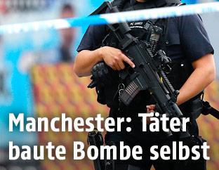 Polizist in Manchester