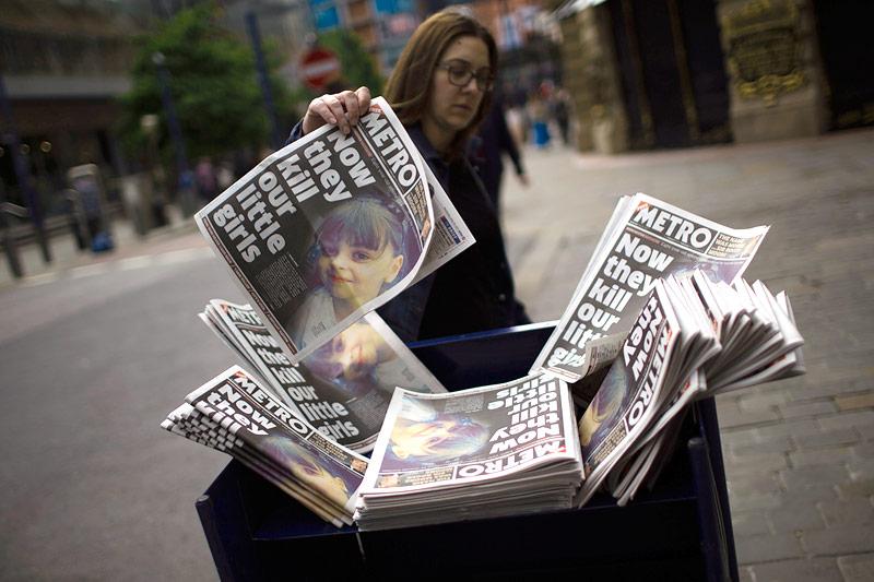 Zeitungen in Manchester