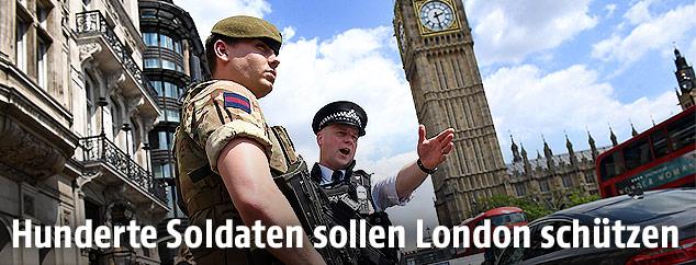 Soldat in London