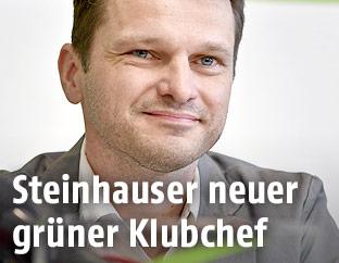 Albert Steinhauser, neuer Klubobmann des Grünen Parlamentsklubs
