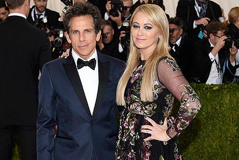 Ben Stiller und Christine Taylor