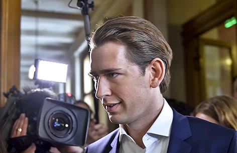 Außenminister und ÖVP-Chef Sebastian Kurz