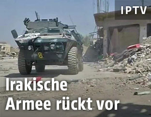 Irakisches Armeefahrzeug