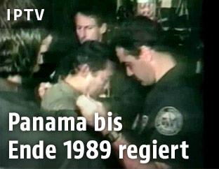 Manuel Noriega wird verhaftet