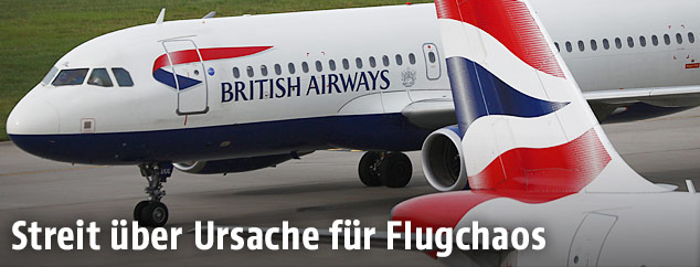 British-Airways-Maschine am Londoner Flughafen Heathrow