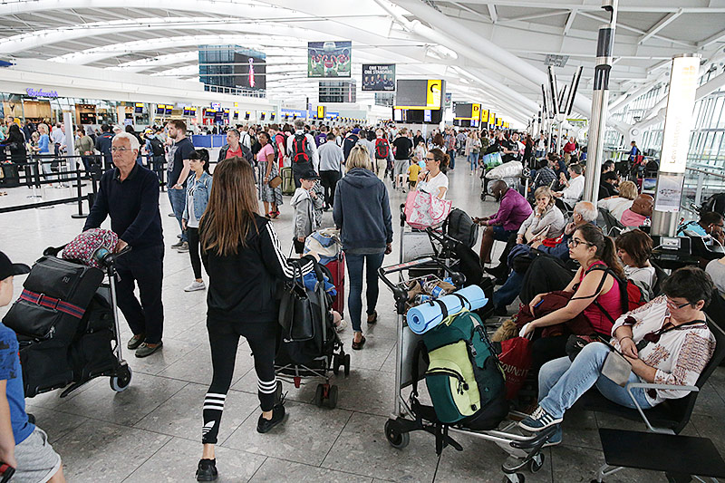 Nach Stromausfall IT-Panne legt British Airways weiter lahm