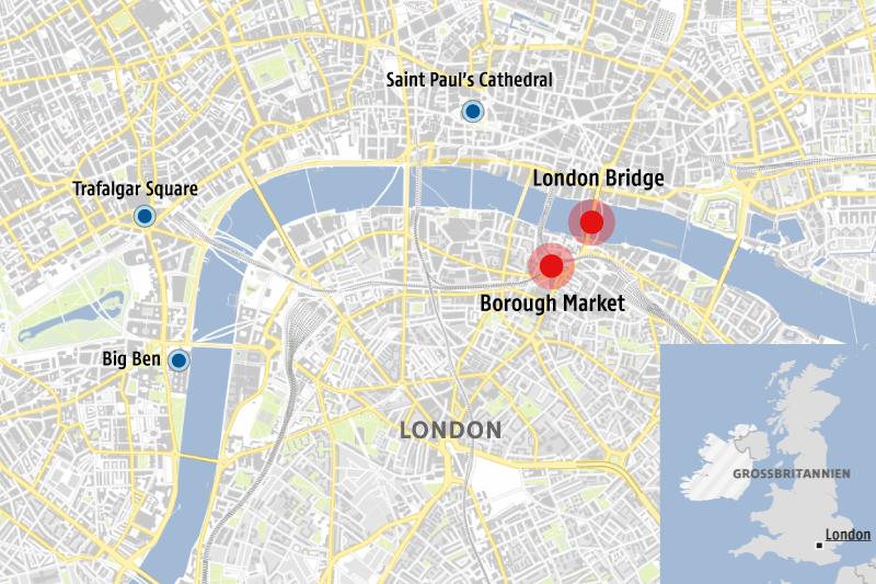 Karte London Stadtteile.Polizei Veroffentlicht Namen Der Angreifer News Orf At
