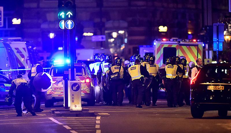 Einsatzkräfte beim Terroranschlag in London