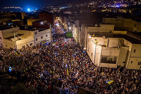 Marokko: Tausende Demonstranten gehen auf die Straße