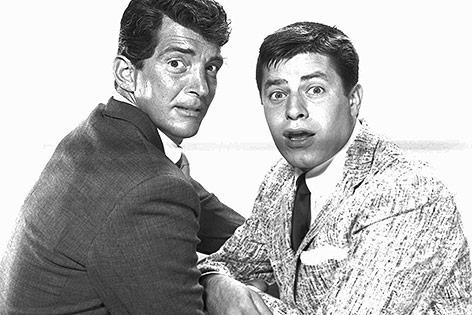 Dean Martin und Jerry Lewis, 1955