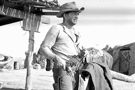 """Dean Martin in """"Rio Bravo"""", 1958"""