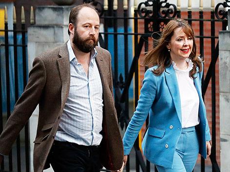 Nick Timothy und Fiona Hill