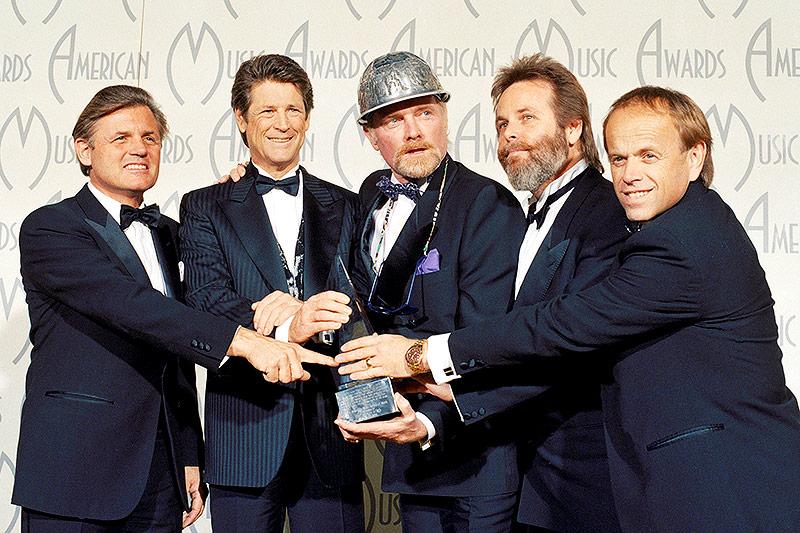 Beach Boys mit dem Music Award 1988