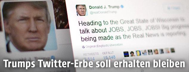 Donald Trumps Twitter-Account