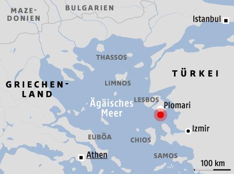 Türkische ägäis Karte.Beben Erschüttert Ferienregion In ägäis News Orf At