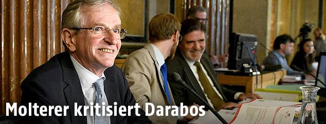 Der ehemalige Vizekanzler und ÖVP-Obmann Wilhelm Molterer