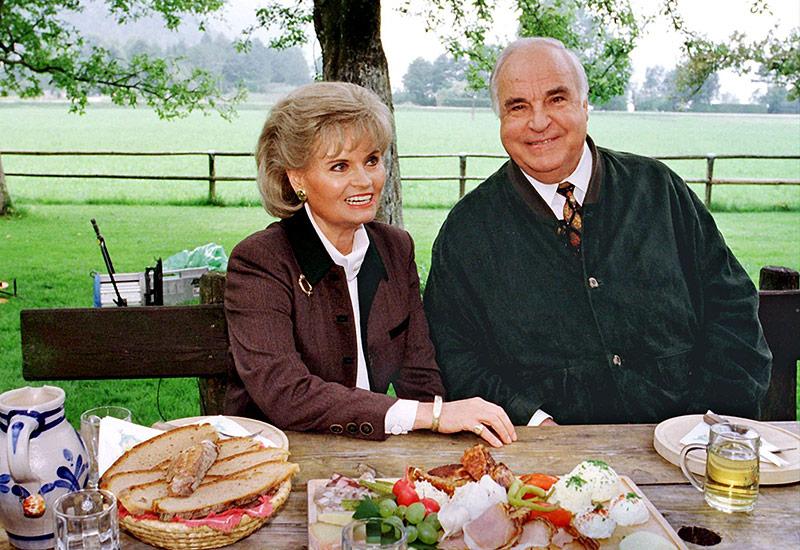 Hannelore Kohl und Helmut Kohl