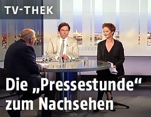 Wolfgang Brandstetter in der ORF-Pressestunde