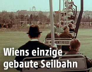 Sessellift im Wiener Donaupark