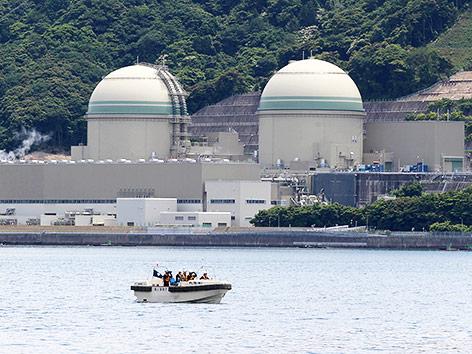 Reaktor Nummer drei in Fukushima
