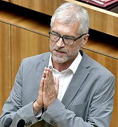 Bildungssprecher Harald Walser (Güne)