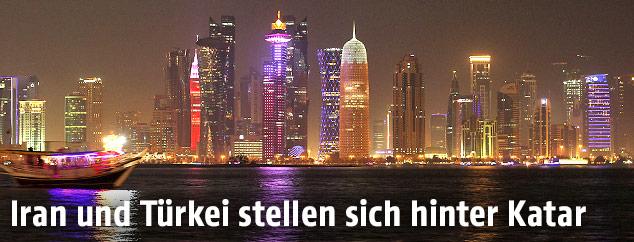 Skyline in Doha