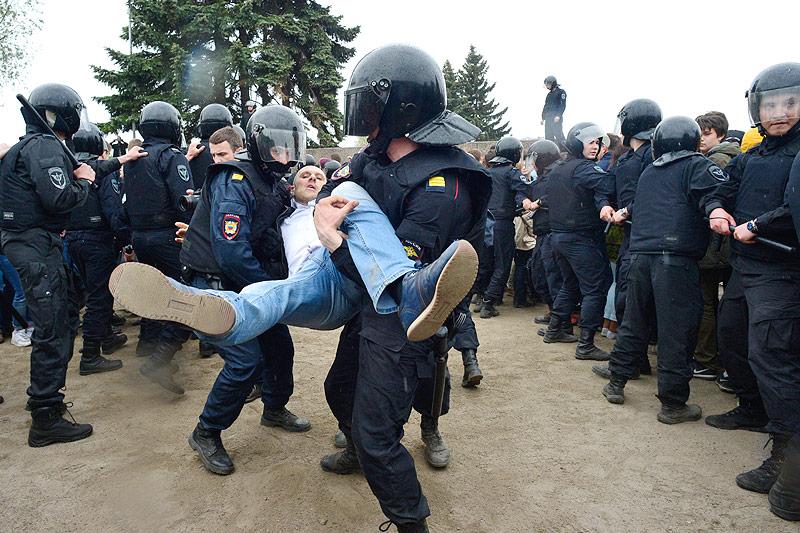 Nawalny darf nicht als Präsident kandidieren